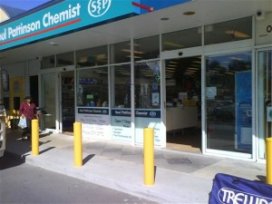 Bollards-fixed-saul-pattinson-Pharmacy