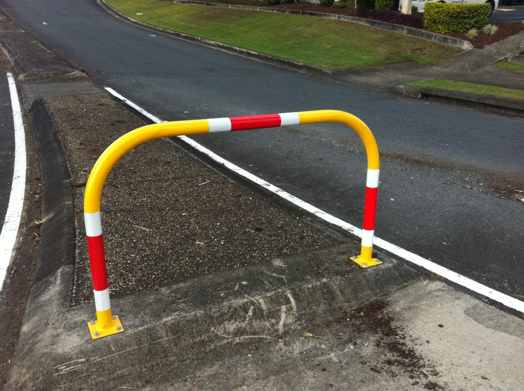 Traffic-Warning-U-Shaped-Bollard