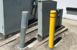 bollard-covers-sleeves-old-new 1