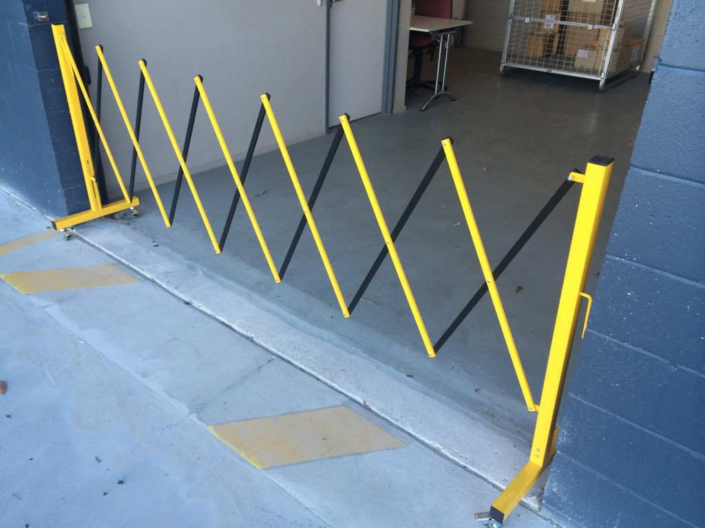 Expandable Trellis Barrier Bollards Qld Australia